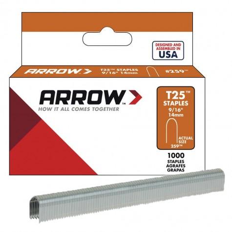Arrow AR259 14mm 1000 Adet Profesyonel U Tipi Zımba Teli