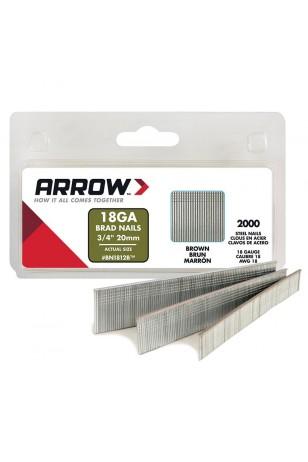 Arrow BN1812 20mm 2000 Adet Profesyonel Kesik Başlı Çivi