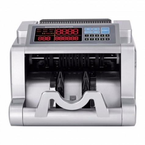 Bill Counter Silver Karışık Para Sayma Makinesi TL, EUR / USD Adet Sayımı