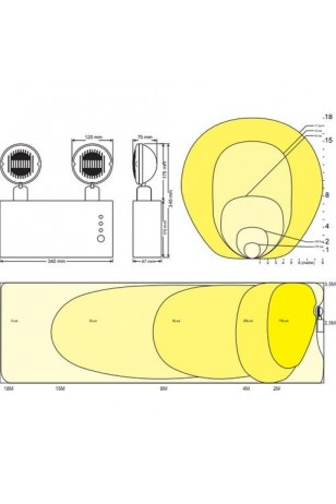 Arsel Versalite LED VSL218/1 Acil Aydınlatma Armatürü Kesintide 60 Dak. Yanan 2X750 Lümen